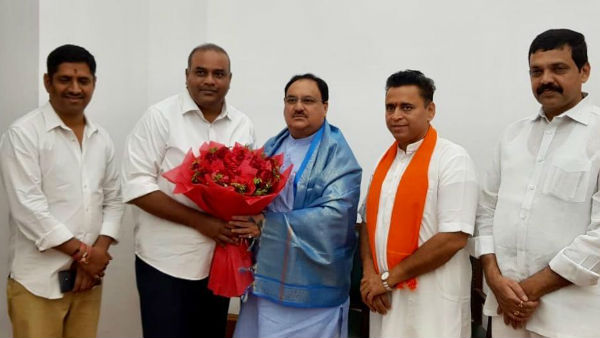 TDP leader annam Satish Prabhakar Reddy joins BJP