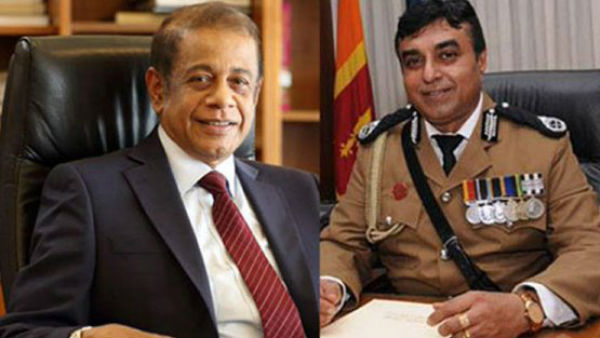 Former defence secretary and former police chief arrested in Sri Lanka