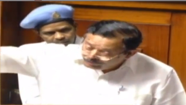 Arkalgud JDS MLA A T Ramaswamy speech in Karnataka assembly; God and flower story