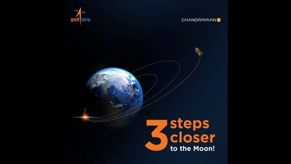 We Are Now 3 Steps Closer To The Moon ISRO Tweet