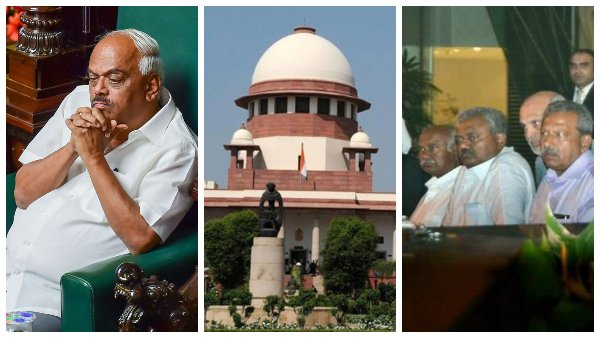 LIVE Supreme court order about dissident MLAs, Karnataka politics developments