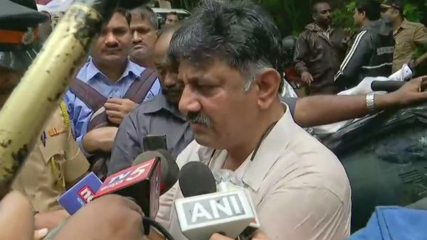 Not interested to meet him: Rebel MLAs on DK Shivakumar in Mumbai