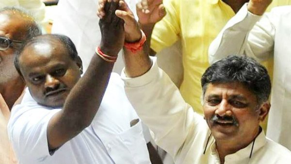 HDKs trust of vote tomorrow, said by DK Shivakumar