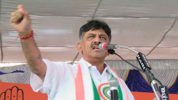 No threat to coalition government says DK Shivakumar