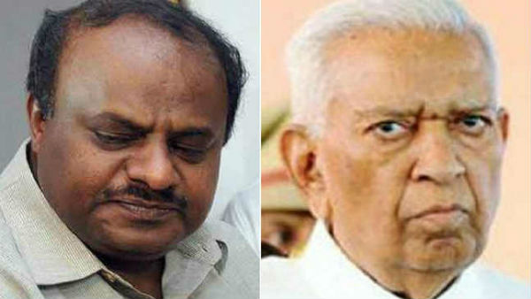 Karnataka political crisis: Another letter to Chief Secetary by governor, dont ake any major decision