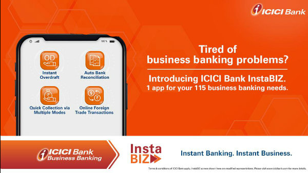 ICICI launches 'InstaBIZ', India's first most comprehensive digital banking platform for MSMEs