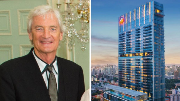 James Dyson purchased costliest penthhouse in Singapore