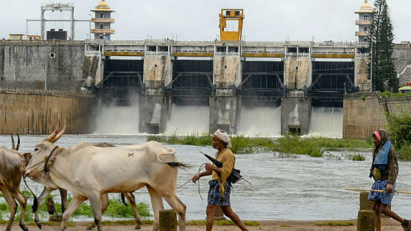 Water level has been increased in Kabini dam