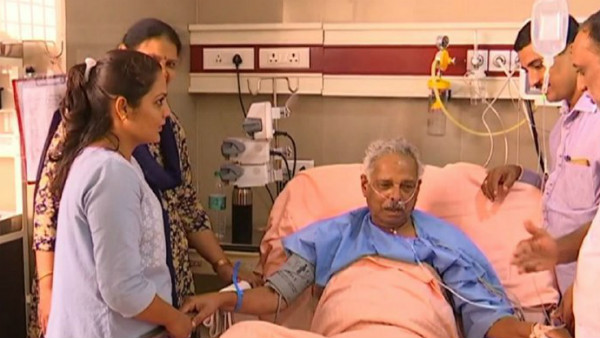 Former minister Kagodu thimmappa un well hospitalised