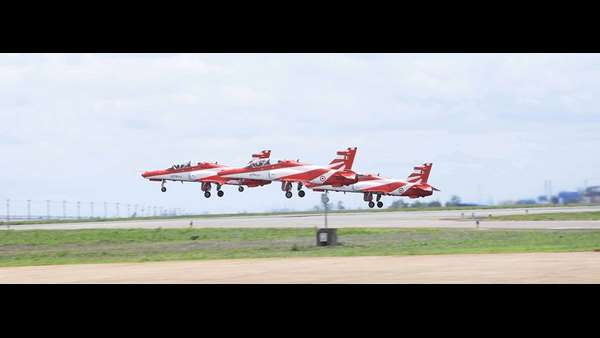 Kargil vijay diwas : Air show in Bidar air base