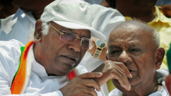 Deve Gowda, Mallikarjun Kharge may go to Mumbai to talk with dissident MLAs