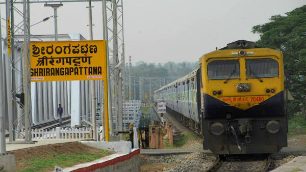 Six days menu trains service between Bengaluru-Mysuru