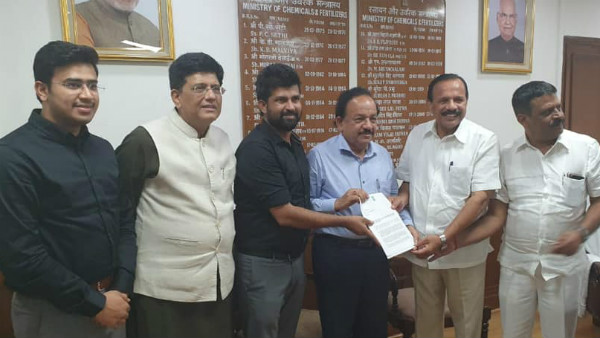 MP Pratap simha appealed central minister for multispeciality hospital to kodagu
