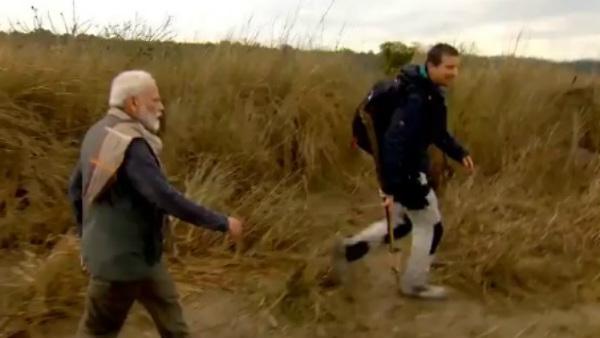 ಖ್ಯಾತ ಬ್ರಿಟಿಶ್ ಶೋ 'Man vs Wild' ನಲ್ಲಿ ಪ್ರಧಾನಿ ಮೋದಿ