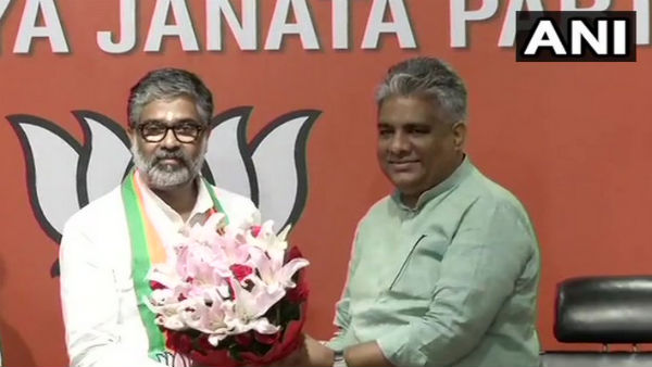 Former SP leader Neeraj Shekhar joins BJP
