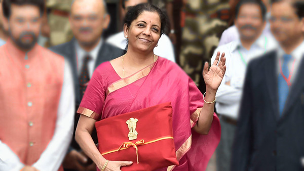 budget-2019-nda finance minister nirmala sitharaman red ledger book bahi khata