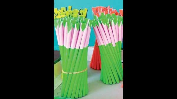 ecofriendly pen that grow as plant invented in mangaluru
