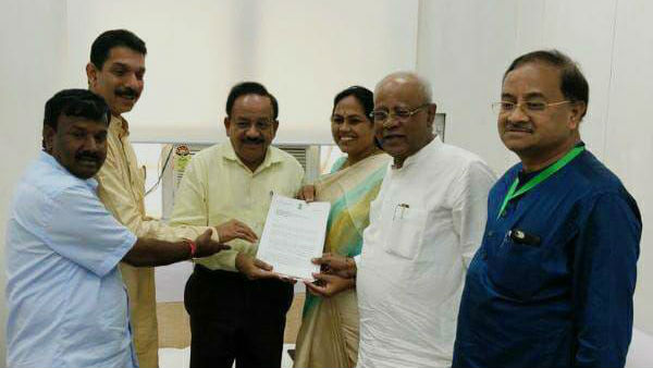 BJP MPs appeal to withdraw affidavit on nut