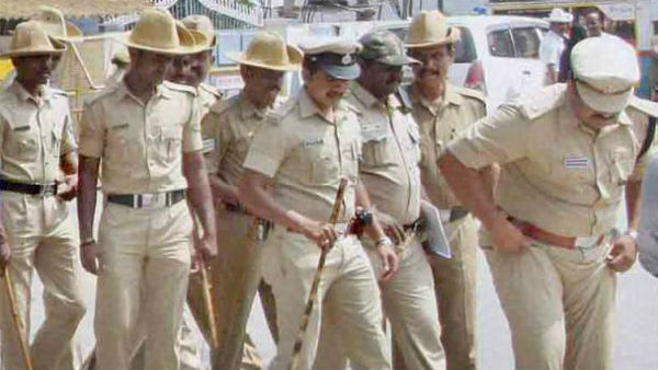 Mandya police SP instructed all police officers should do village stay