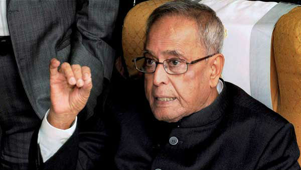 Pranab Mukherjee says, 5 trillion economy is not coming out of heaven.