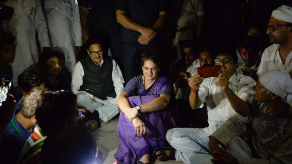 priyanka gandhi vadra uttar pradesh sonbhadra shootout i wont leave without meeting