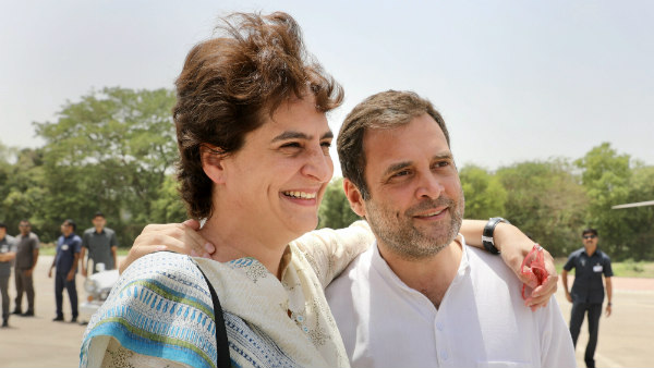 Priyanka Gandhi vadhra few have the courage that you do rahul gandhi