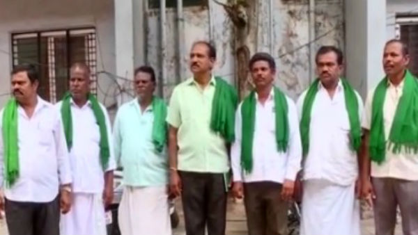 farmers protested against government
