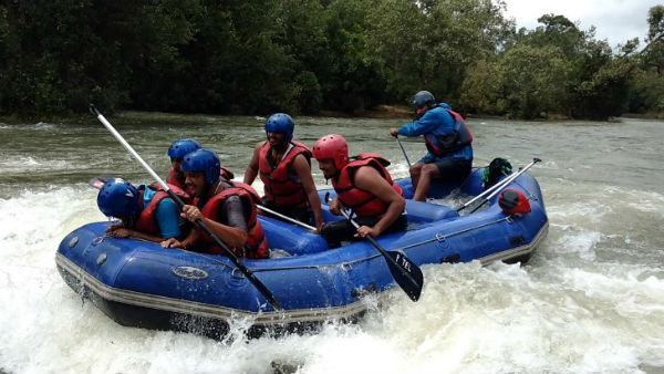 river rafting started in dubare kushalanagar