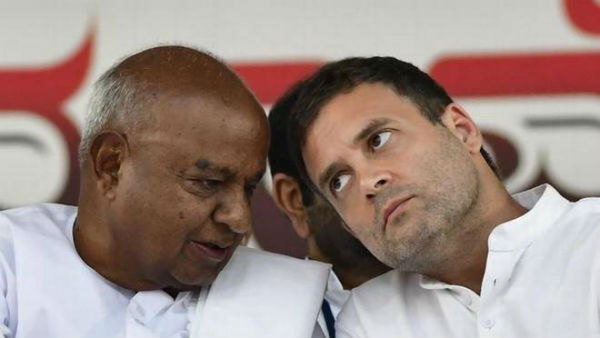 JDS Supremo Deve Gowda reaction on Rahul Gandhi resignation from President post