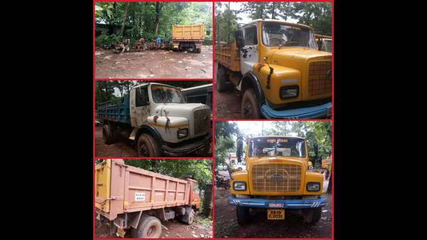Mangaluru police raided illegal redstone mining spot