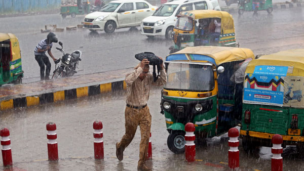 Heavy rain flood alert in Bihar
