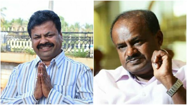 Renukacharya criticised HDK that without majority government is running