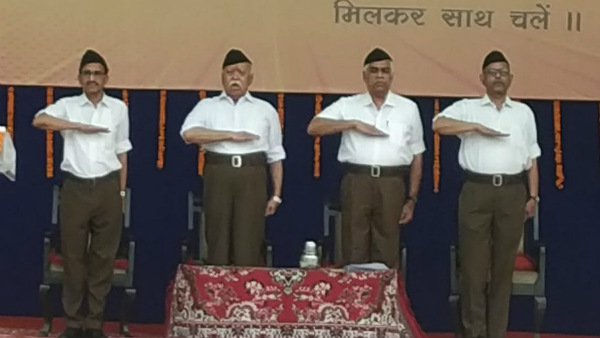 Top RSS office bearers including Mohan Bhagwat made their debut to Twitter
