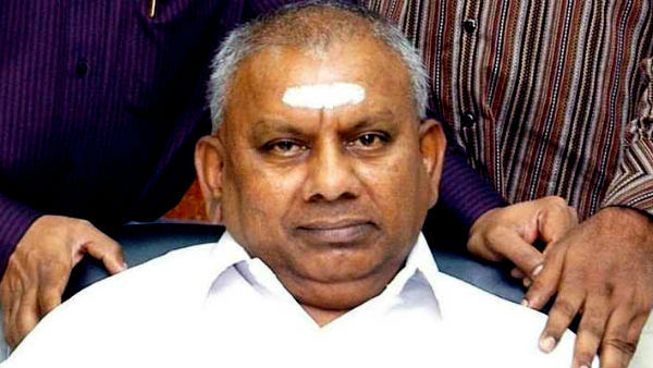 Murder case convicted P Rajagopal suffer heart attack