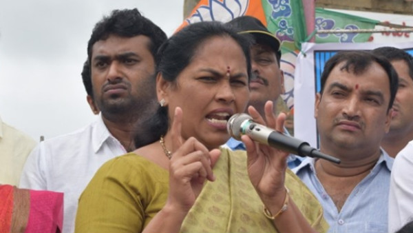 Speaker behaves like Congress Agent says Shobha