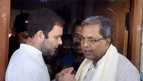Did Siddaramaiah said, I am helpless to Congress High Command?