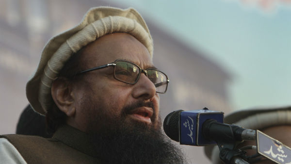 Hafiz Saeed and his aid booked for terror funding in Pakistan