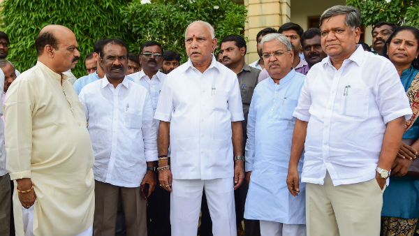 Karnataka political crisis step down if you have morality yeddyurappa demanded hd kumaraswamy