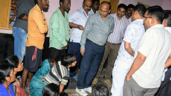 CS TM Vijay Bhaskar Visited Flood Hit Belagavi