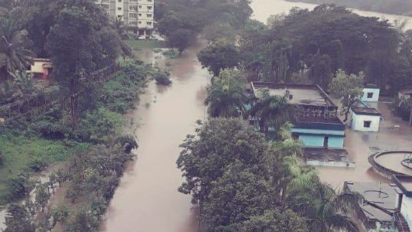 Homes Merge In Deluge And Two Death By Heavy Rain In Karwar