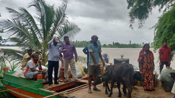 Flood Continued In Bagalkot ; Relief And Rescue Operations Underway