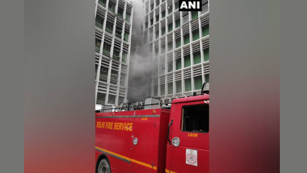 A fire has broken out at All India Institute of Medical Sciences