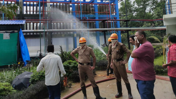 Ammonia Leak At The Fish Processing Plant In Kundapur