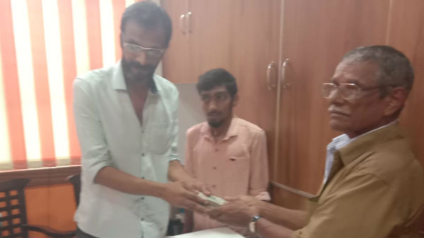Belthangady Auto Driver Honnappa Gowda Contributes 1 Lakh To Flood Victims