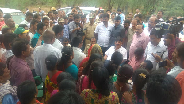 BJP Is Building Grave For Disqualified Said DK Shivakumar In Kanakapur