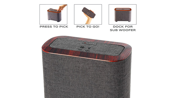 Lumiford introduces 2.1 Hi-Fi Subwoofer Dock