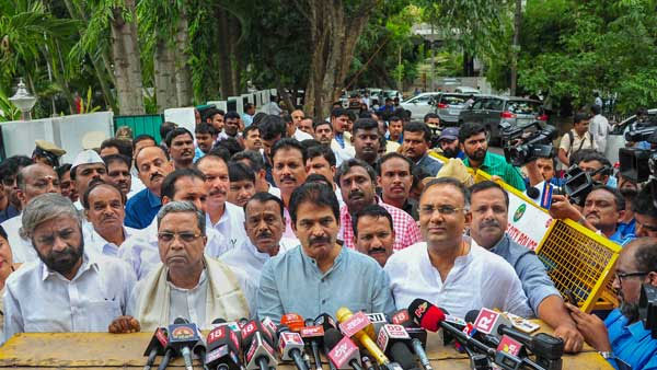 KPCC Submitted Caveat Petition In Karnataka High Court Against Eight Disqualified MLAs