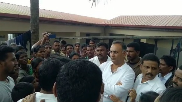 Dinesh Gundurao Visits Chikkamagaluru Flood Affected Areas