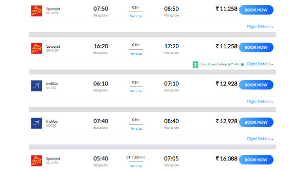 Flood In Dakshina Kannada: Airlines Charging Too Much Fare To Travel Between Mangaluru - Bengaluru
