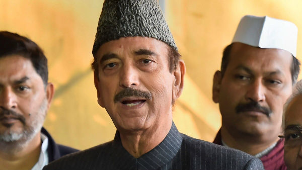 No Entry For Ghulam Nabi Azad In Jammu And Kashmir